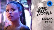 Good Trouble Season 2 Finale Sneak Peek The Confession Tree Freeform