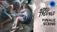 Good Trouble Season 2 Summer Finale Where Do Davia & Dennis Go From Here? Freeform