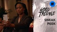 Good Trouble Season 2, Episode 11 Sneak Peek Malika vs