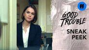 Good Trouble Season 2 Summer Finale Sneak Peek Callie's Big Decision Freeform