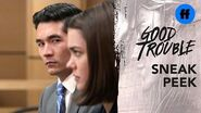 Good Trouble Season 1, Episode 4 - Sneak Peek- Ben Questions Callie - Freeform