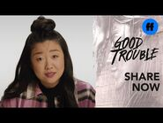 """Good Trouble x ATTN- Season 3 - """"The Trouble With"""" Cultural Appropriation in Comedy - Freeform"""