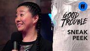 Good Trouble Season 2, Episode 3 Sneak Peek Alice Introduces Jazmin Freeform