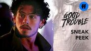 Good Trouble Season 2 Finale Sneak Peek Gael Avoids Dennis Freeform