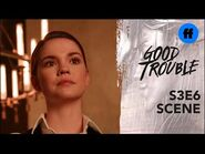 Good Trouble Season 3, Episode 6 - Jamie Has a Warning for Callie - Freeform