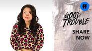 "Good Trouble x ATTN Season 2 ""The Trouble With"" Work-Life Balance Freeform"