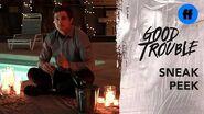 Good Trouble Season 2 Holiday Special First Sneak Peek Jamie's Box Freeform