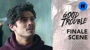 Good Trouble Season 2 Summer Finale Gael & Elijah Are Done Freeform