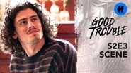 Good Trouble Season 2, Episode 3 Gael Comes Out To His Family Freeform