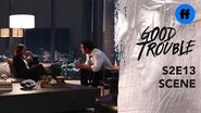 Good Trouble Season 2, Episode 13 Callie & Jamie Argue Freeform