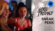 Good Trouble Season 1, Episode 4 - Sneak Peek- Davia Has a Mystery Man - Freeform