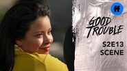 Good Trouble Season 2, Episode 13 Evan Protects Mariana Freeform