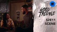 Good Trouble Season 2, Episode 11 Malika and Isaac Fight Freeform