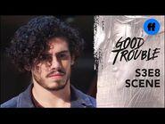 Good Trouble Season 3, Episode 8 - Yuri Asks Gael to Prove Himself - Freeform