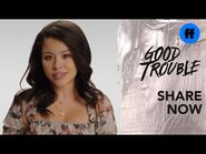 """Good Trouble x ATTN- Season 3 - """"The Trouble With"""" Barriers for Women - Freeform"""