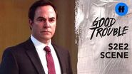 Good Trouble Season 2, Episode 2 Malika Confronts Judge Wilson Freeform