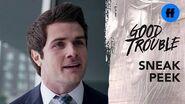 Good Trouble Season 2 Premiere Sneak Peek Jamie & Callie Argue Freeform