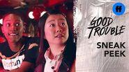 Good Trouble Season 2, Episode 5 Sneak Peek Alice Goes to Comedy Night Freeform
