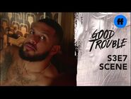 Good Trouble Season 3, Episode 7 - Isaac Confronts Malika About Dyonte - Freeform