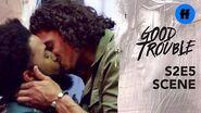 Good Trouble Season 2, Episode 5 Gael Gives Elijah A Thank You Gift Freeform