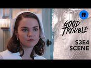 Good Trouble Season 3, Episode 4 - Callie Comes Clean About Jamie - Freeform