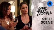 Good Trouble Season 1, Episode 11 A Very Uncomfortable Toast Freeform