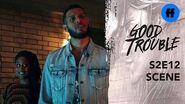 Good Trouble Season 2, Episode 12 Malika Surprises Isaac Freeform