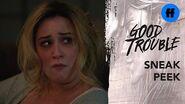 Good Trouble Season 2, Episode 11 Sneak Peak Jeff's Wife Finds Davia's Instagram Freeform