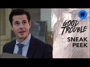 Good Trouble Season 3, Episode 6 - Sneak Peek- Tony Has a Crush on Callie - Freeform