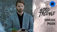 Good Trouble Season 2, Episode 13 Sneak Peek Evan Apologizes to Mariana Freeform