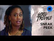Good Trouble Season 3, Episode 16 - Sneak Peek- Malika vs