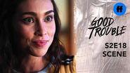 Good Trouble Season 2 Finale Mariana & Isabella Fight About Raj Freeform