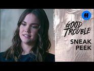 Good Trouble Season 3, Episode 18 - Sneak Peek- Callie's Patience is Being Tested - Freeform