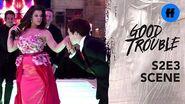 Good Trouble Season 2, Episode 3 Jazmin's Doble Quince Group Dance Has a Twist Freeform