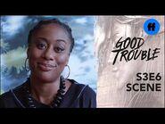 Good Trouble Season 3, Episode 6 - Malika Shares Her Story - Freeform