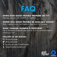 FAQ Good Trouble