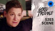 Good Trouble Season 2, Episode 5 Joey Has History With Lindsay Freeform