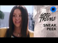 Good Trouble Season 3, Episode 16 - Sneak Peek- Mariana's Awkward Encounter - Freeform
