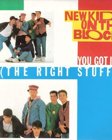 The Right Stuff Nkotb