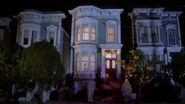 Tanner House at Halloween