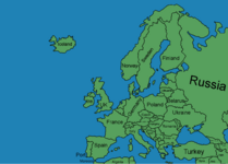 EUROPE MAP (by Zalyat)