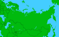 Russia map No Color