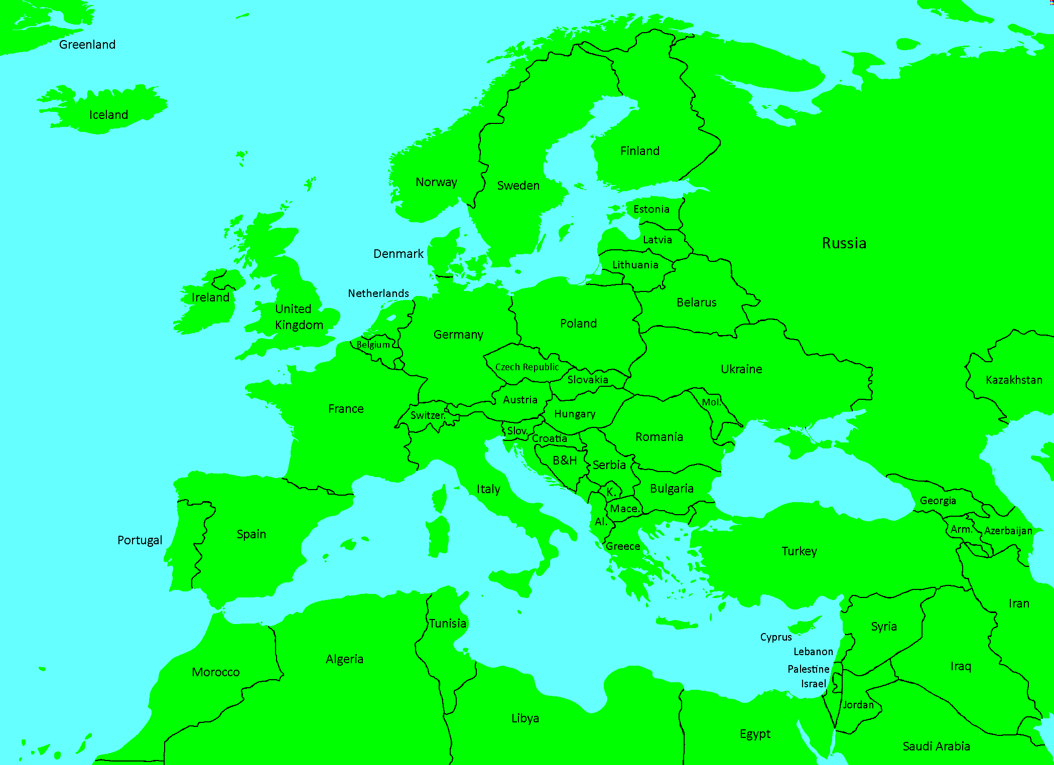 europe map for mappers Maps for Mappers | TheFutureOfEuropes Wiki | Fandom