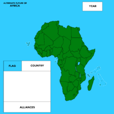 Africa Map by CanariesDoesMapping