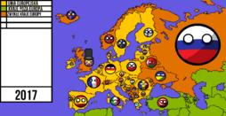Europe Map by Polonia HD Mapping