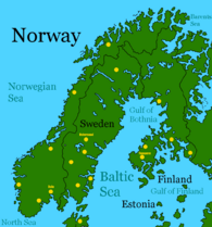 Scandinavia after Global Warming
