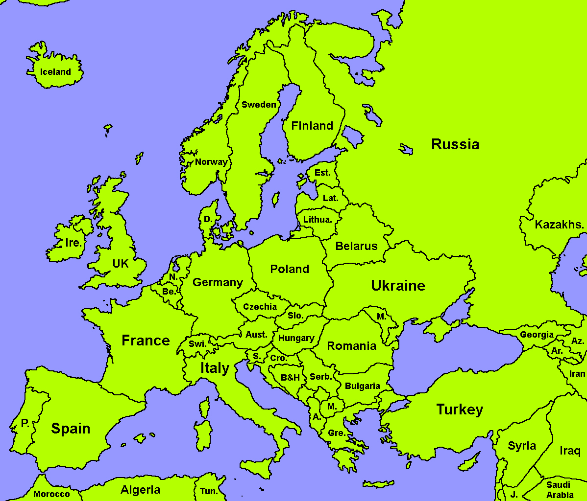 map of europe for mapping Maps for Mappers | TheFutureOfEuropes Wiki | Fandom