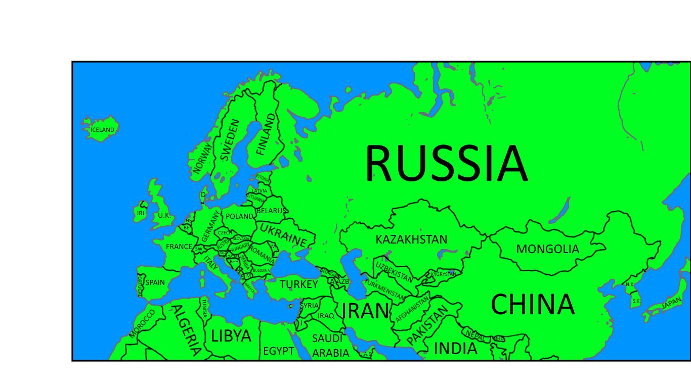 alternate future of europe map The Alternative Future of Europe (Map Game) | TheFutureOfEuropes