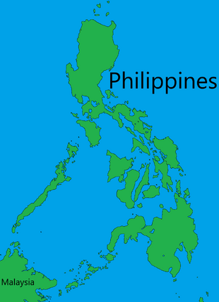 Free to use Philippines Blank map