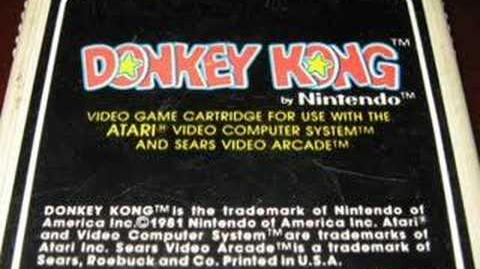 Classic Game Room - DONKEY KONG review for Atari 2600